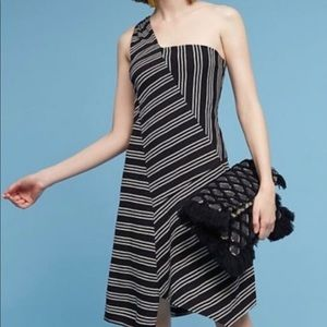 Maeve Moka one strap dress